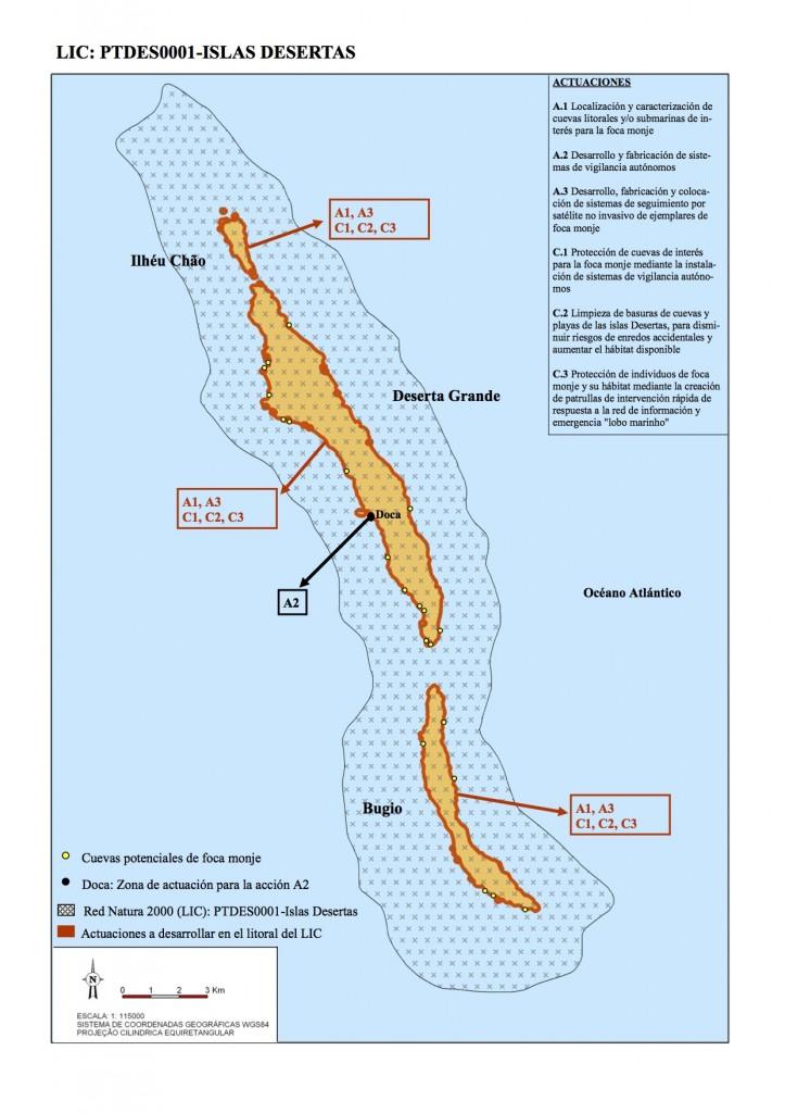 1. Mapa Islas Desertas