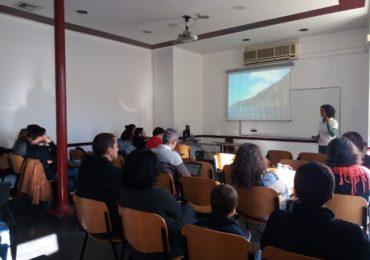 LIFE Madeira foca monje en ISPA en Lisboa